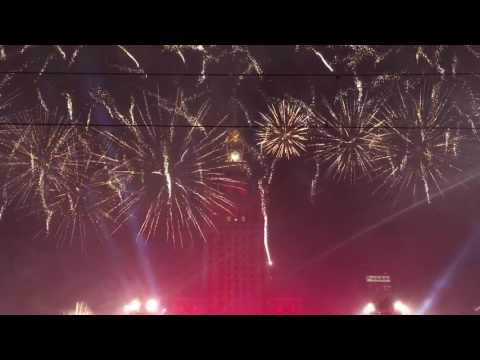 Happy New Year 2017 from Warsaw by Dzyr TV