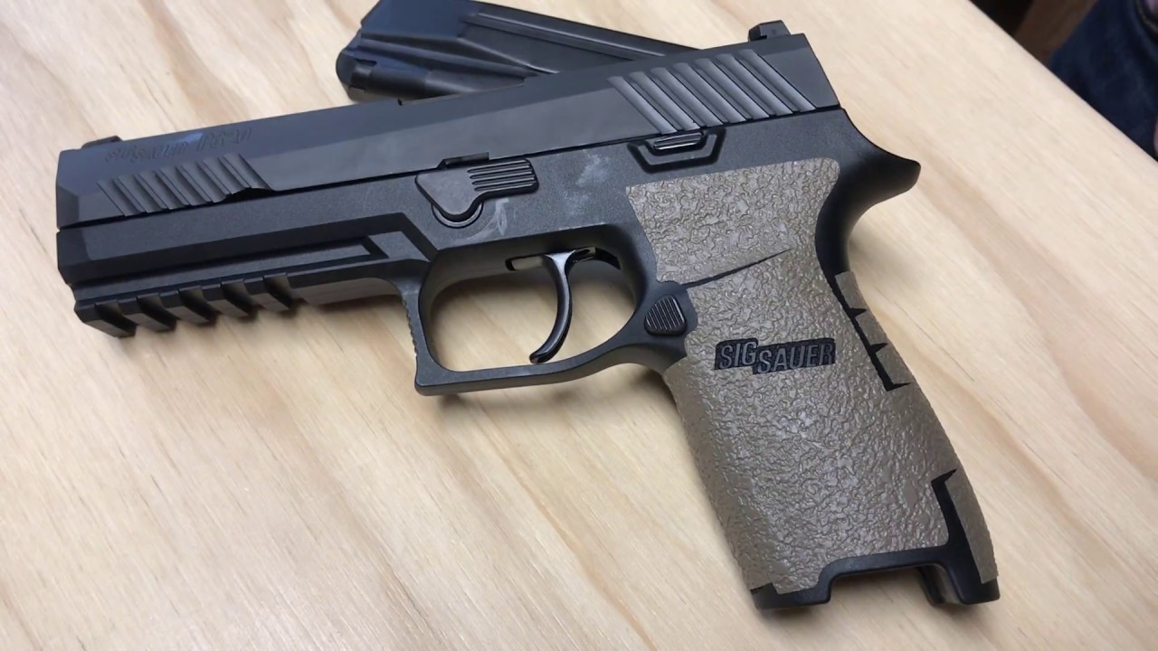 Overview Sig Sauer P320 Full Size | TALON Grips
