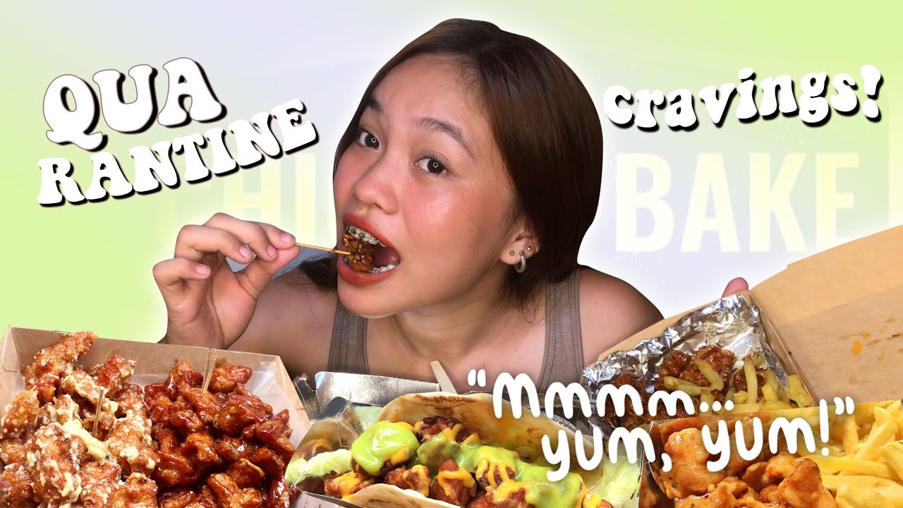 CRAVINGS SATISFIED! Chicken Poppers Mukbang | Philippines