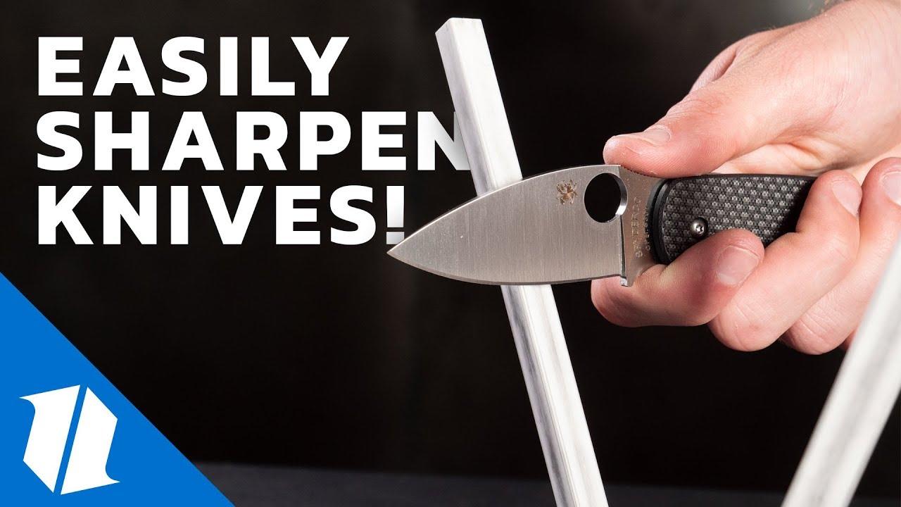 How to Sharpen a Pocket Knife | The Spyderco Sharpmaker