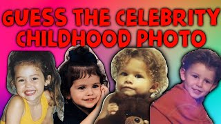 Guess The Celebrity Childhood Photo.