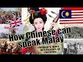 How Chinese can speak Malay ? History of Multilingual Malaysian