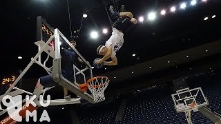 Aerial Acrobatic Freestyle  Dunking- 360 Video