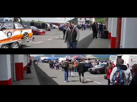 Slidecars 1.round 2014 CDS, BMW e36 325 TURBO + Toyota Supra 2JZ