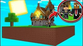 Surviving On 1 Minecraft Sky Block w/ SkyDoesMinecraft
