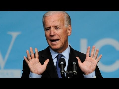 """Biden almost lets the """"A-word"""" slip - Politicians say WHAT?!"""