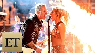 GRAMMYs 2017's Biggest Performances: Metallica & Lady Gaga Rock Through Technical Difficulties