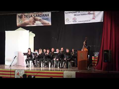 NIT DE LA SARDANA, ALGUAIRE 2017, CONCERT  BELLPUIG COBLA