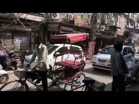 Street View of a Market, Rajouri Garden, Delhi