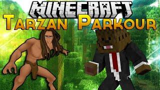 Minecraft Tarzan Challenge Parkour w/ BajanCanadian & Jerome!
