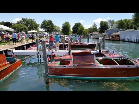 2017 Algonac Antique Boat Show