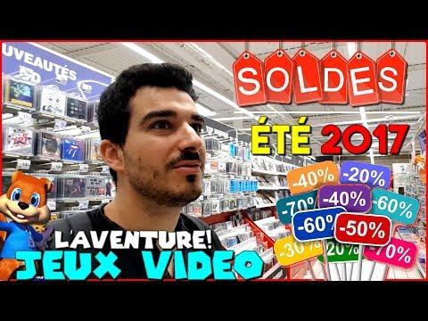 Les SOLDES d'été Jeux Vidéo 2017 ! [L' Aventure LIVE] - Wii U et 3DS à - 80%!