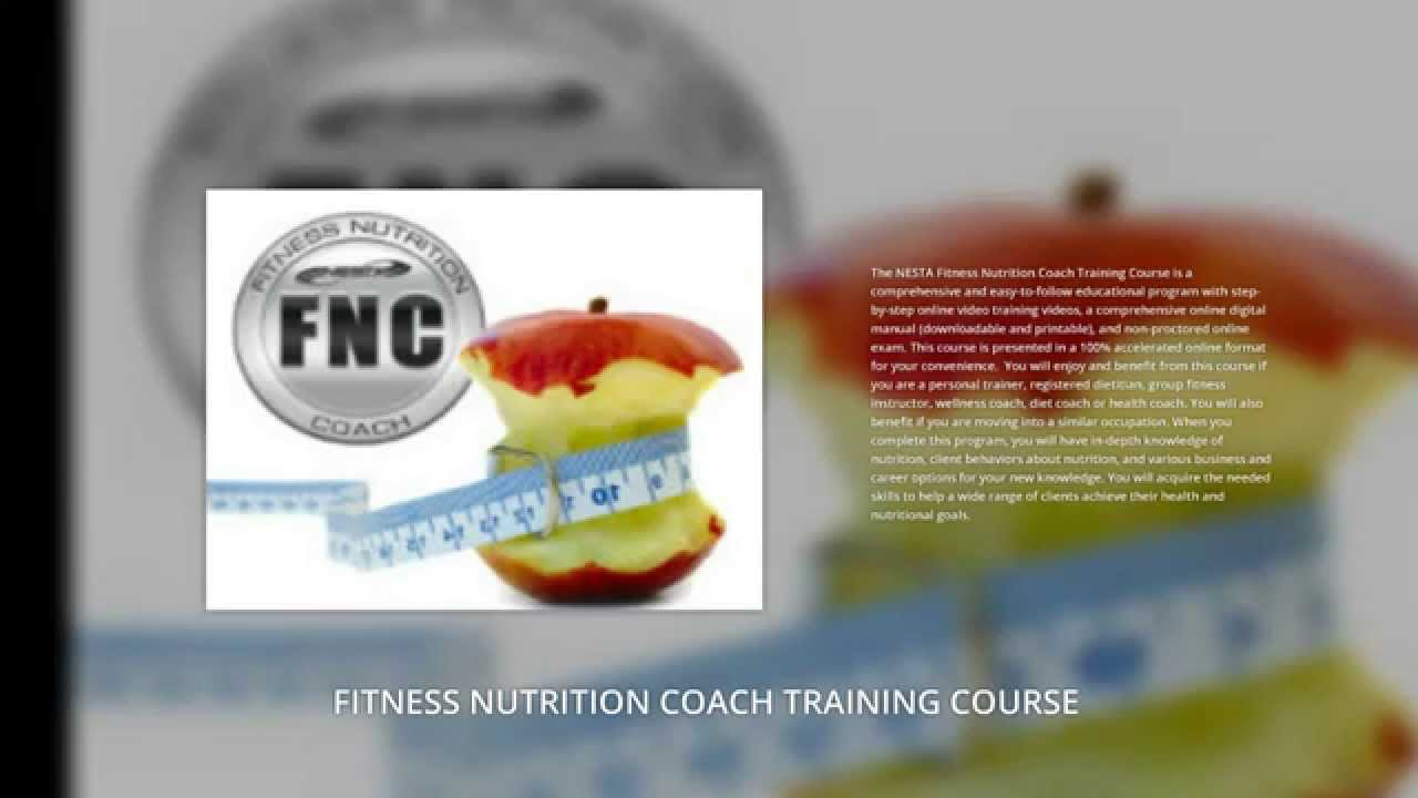 Best Online Nutrition Certification Course Youtube