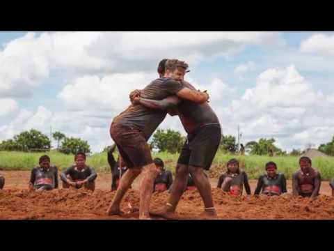 Fitness or comedy? Nish and Joel on Tribal Bootcamp