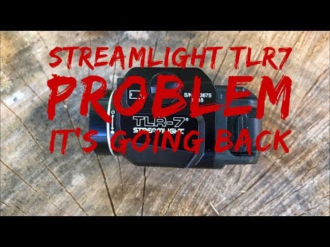 Streamlight TLR7 PROBLEM!! It's Going Back!
