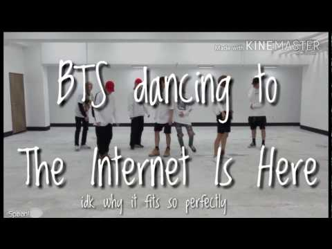 BTS Dancing To The Internet Is Here