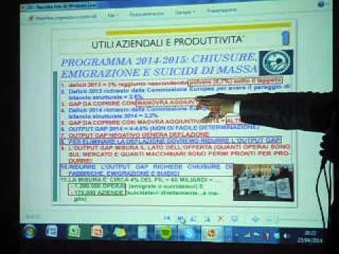 Meeting M5S 007 - Maurizio Gustinicchi e il debito pubblico