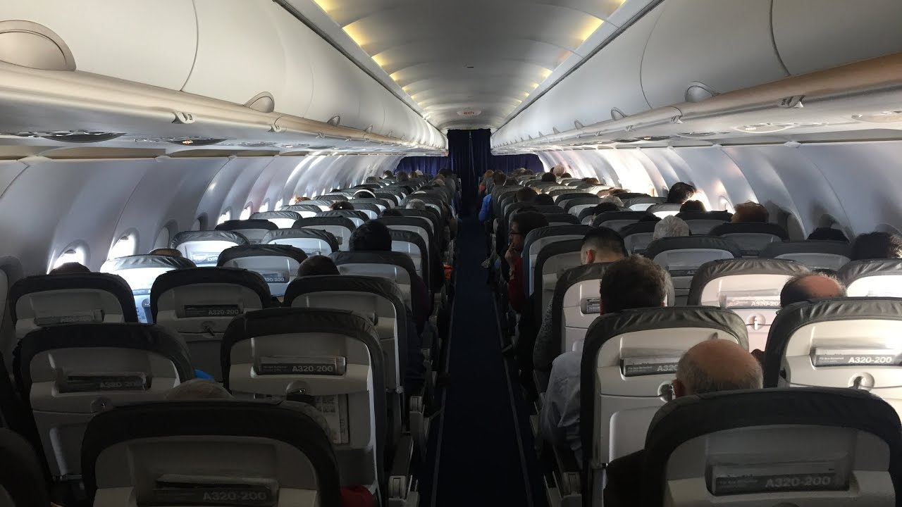 Lufthansa Airbus A320 200 Economy Class Review Youtube