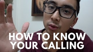 How to Know Your Calling