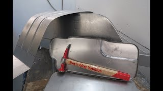 How to make your own car body repair panels hammer forming Tips and Tricks #18 panel beating