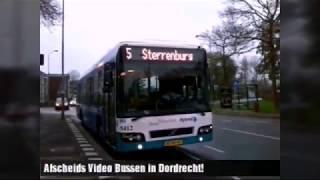Hybird Arriva Bussen in Dordrecht | Afscheids Video van |