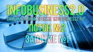 Инфобизнес 2.0 Занятие 01. Что такое инфобизнес (11.08.2014) [Вебинары]