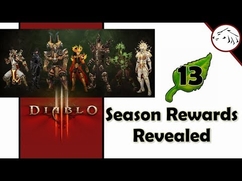 Diablo 3 Season 13 Journey Rewards And Haedrig's Gift Starter Sets For  Every Class