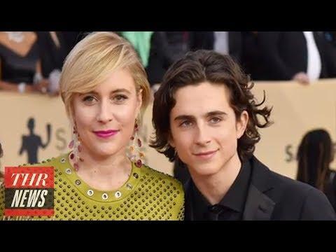 Greta Gerwig Coached Timothee Chalamet on How to Handle Woody Allen | THR News