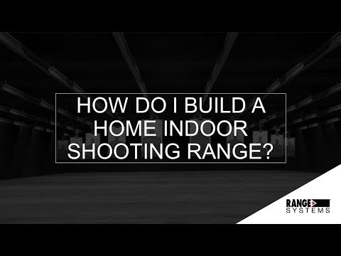 How Do I Build A Home Indoor Shooting Range? | Webinar #5 Recording | Range Systems