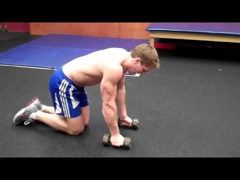 How To: Dumbbell T Push-Up