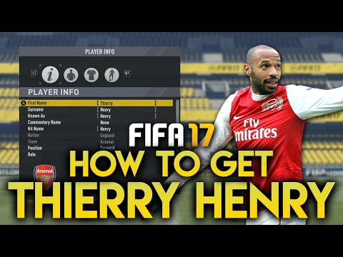FIFA 17 | How To Get Thierry Henry | Quick And Easy!