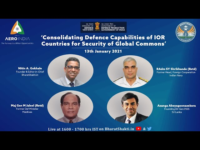 Consolidating Defense Capabilities of IOR Countries for Security of Global Commons.