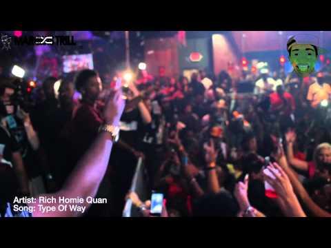 Rich Homie Quan Concert   Houston,TX   Kirko Bangz   Bun B