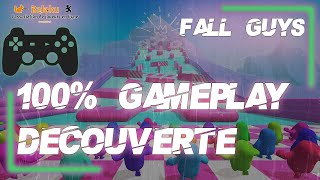 Attrape moi si tu peux - 100% Gameplay Découverte Fall Guys Ultimate Knockout