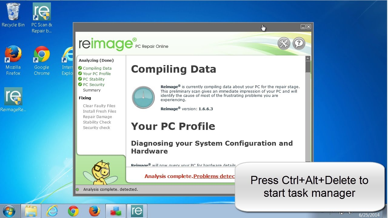 How to uninstall Reimage Repair