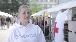 """Vanessa Kurri kertoo kampanjasta """"3 litraa puhdasta vettä"""""""