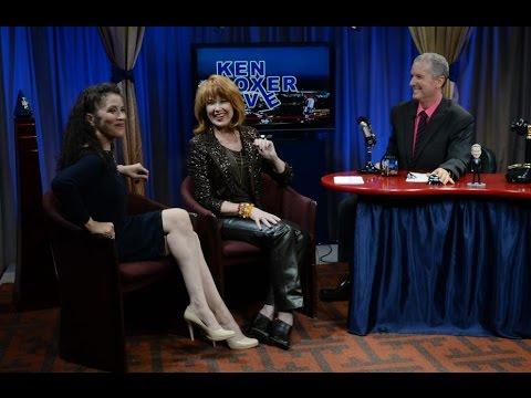 """""""Ken Boxer Live,"""" Lee Purcell, American Actress (""""Valley Girl""""), w/ Tai Babilonia"""
