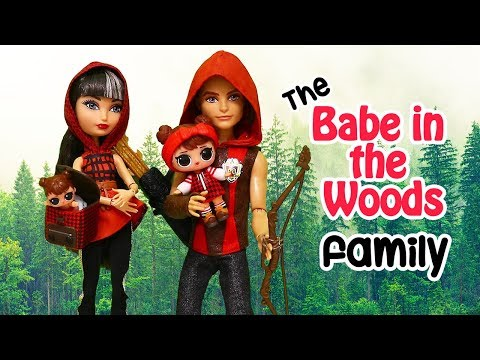 Babe in the Woods Family is Little Red Riding Hood ! Toys and Dolls Pretend Play for Kids | SWTAD