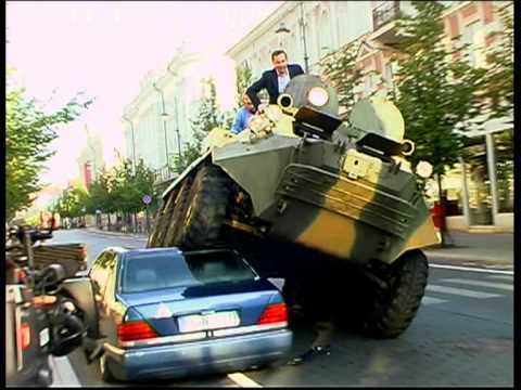 Vilnius Mayor Illegally Parked Cars With