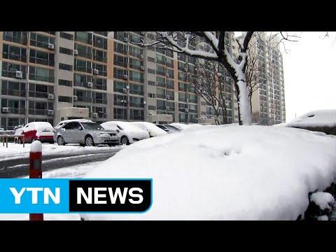 [날씨] 밤사이 기온 '뚝'...오늘 최강 한파, 서울 -8℃ / YTN