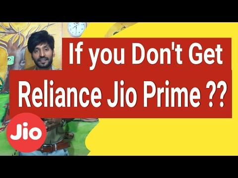 Hindi   Jio Benefits END   If you dont get Reliance Jio Prime Membership???