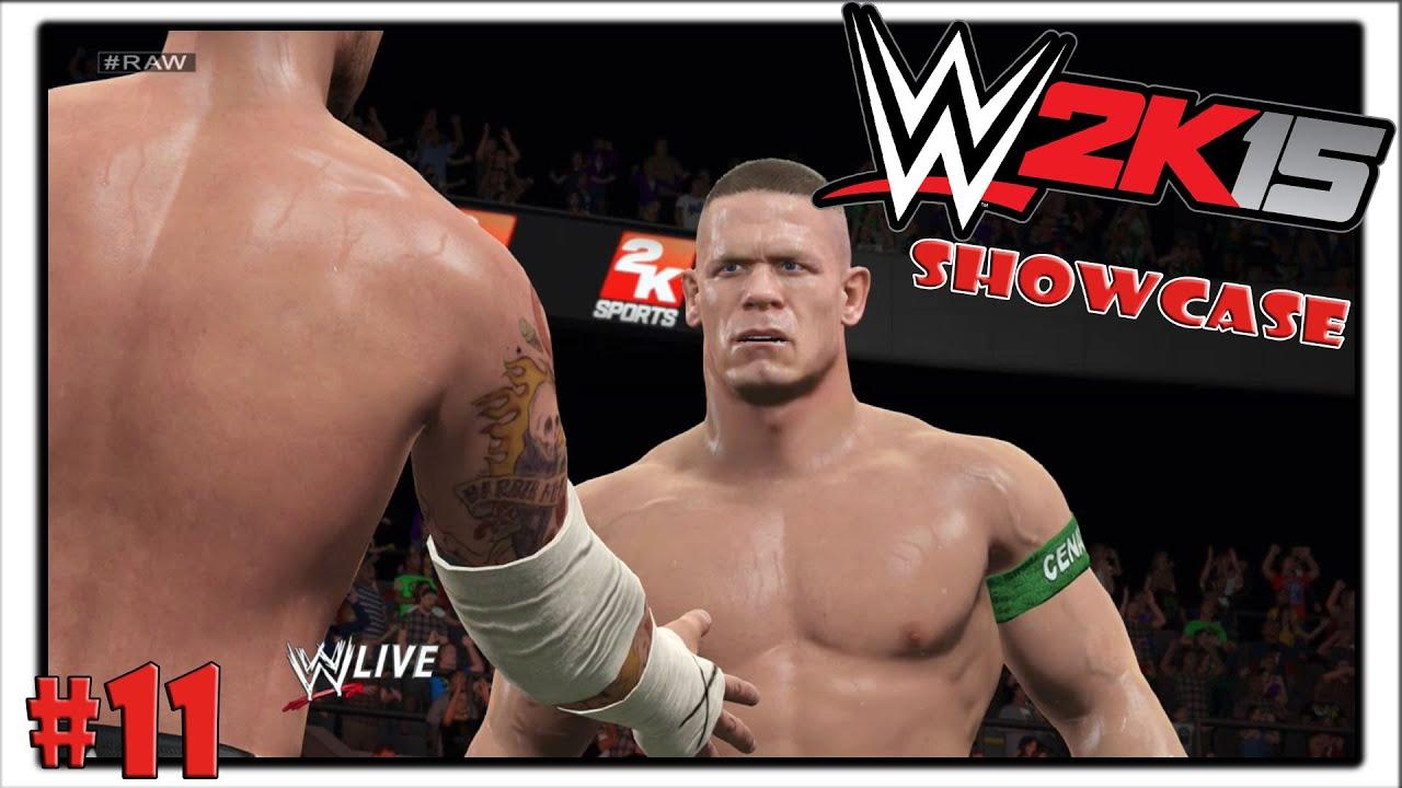 WWE2K15 Showcase CM Punk& John Cena vs Big Show& Daniel Bryan #11 German Deutsch YouTube
