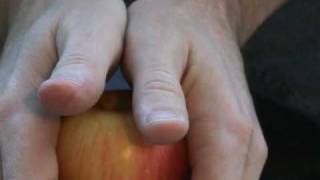Super-Human Strength - Halve An Apple With Your Bare Hands