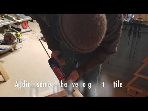 DIY Simple Stool: Woodworking and Tile