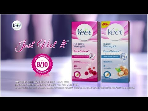 Veet Cold Wax Strips Salon Like Smooth Skin Anytime Anywhere