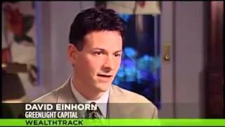 David Einhorn Comments on Gold