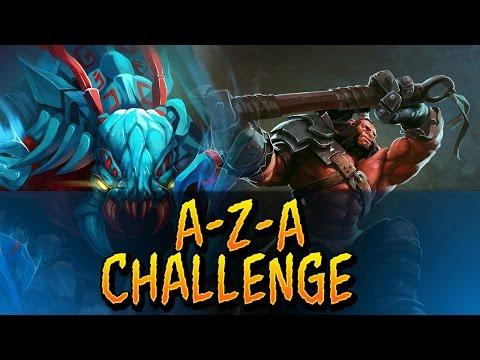 Dota 2 - A-Z-A Challenge Axe & Weaver