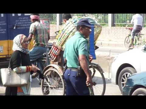 Water Pump by Traffic Police