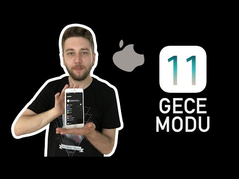 iOS 11 gece modu ve sürükle/bırak nasıl çalışıyor?