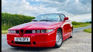 Alfa Romeo SZ review. What's this 152mph Alfa really like to drive?